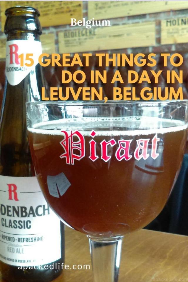 15 Great Things To Do In A Day In Leuven Belgium - taste Belgian beer