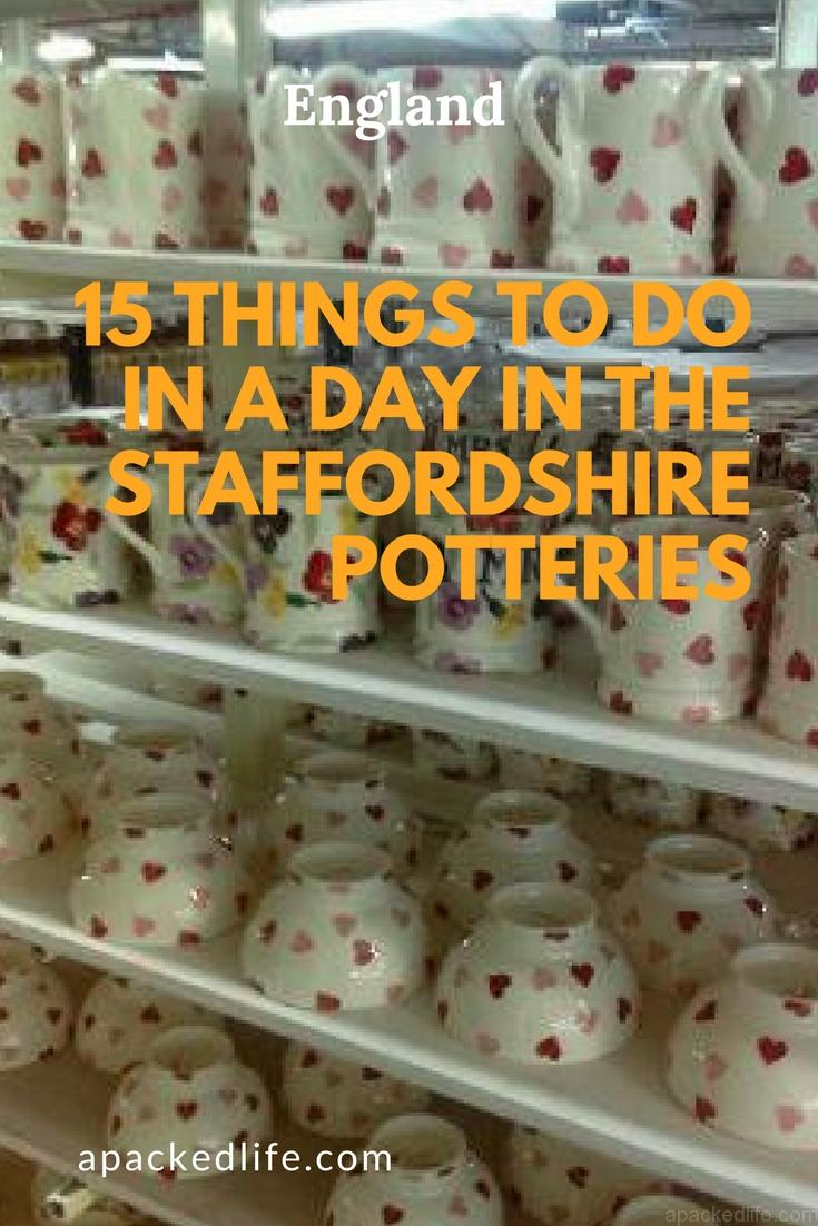 15 Things To Do In A Day In The Staffordshire Potteries - Factory Tour at Emma Bridgewater