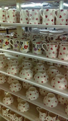 15 Things To Do In A Day In The Staffordshire Potteries - The Potteries - Production underway at the Emma Bridgewater Factory, Hanley, Stoke-on-Trent
