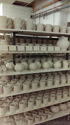 15 Things To Do In A Day In The Staffordshire Potteries - what comes out of the saggar - slip cast clay items