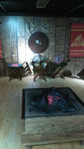 15 Things To Do In A Day In The Staffordshire Potteries - Recreation of an Anglo-Saxon Mead Hall at the Potteries Museum and Art Gallery Stoke-on-Trent as part of the Staffordshire Hoard exhibit
