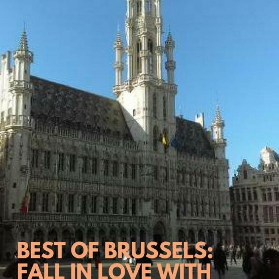best of brussels_ Fall in love with grand place - Brussels Grand Place Hotel de Ville