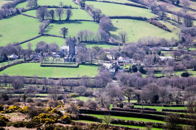 Prettiest Villages In Devon - Widecombe in the Moor