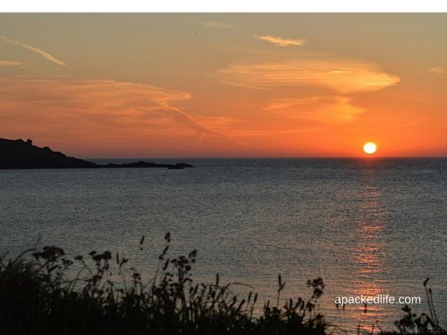 Sunrise in Cornwall, England