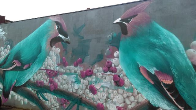 15 Things To Do In A Day In The Staffordshire Potteries - Street Art in the centre of Hanley