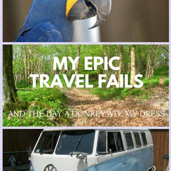 My Epic Travel Fails (and the day a donkey ate my dress)