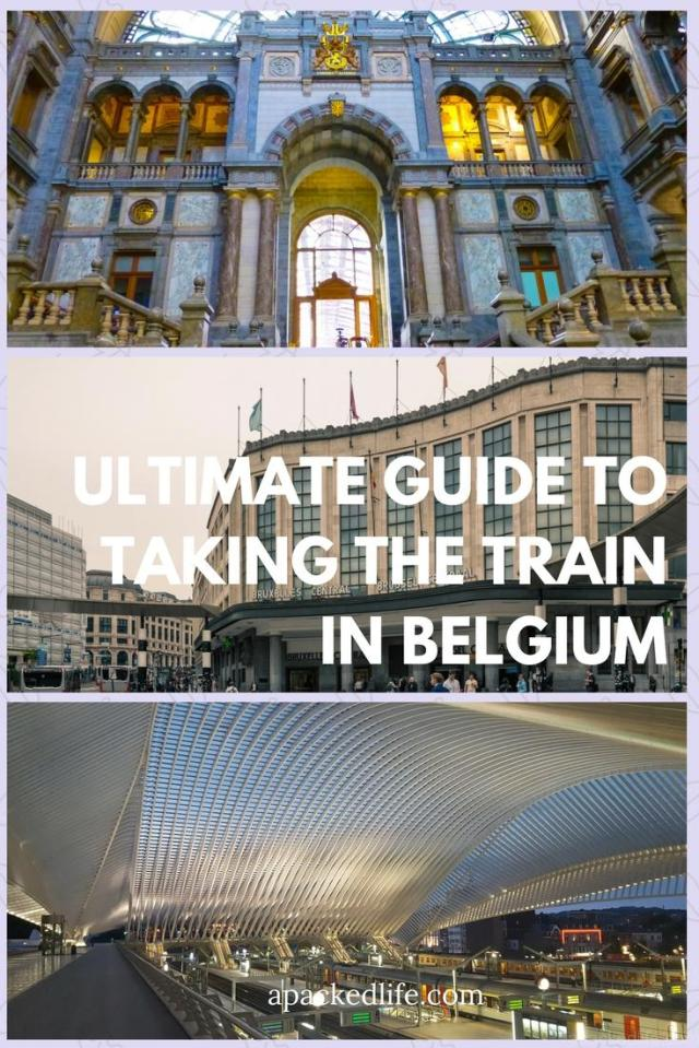 Ultimate Guide To Taking The Train In Belgium