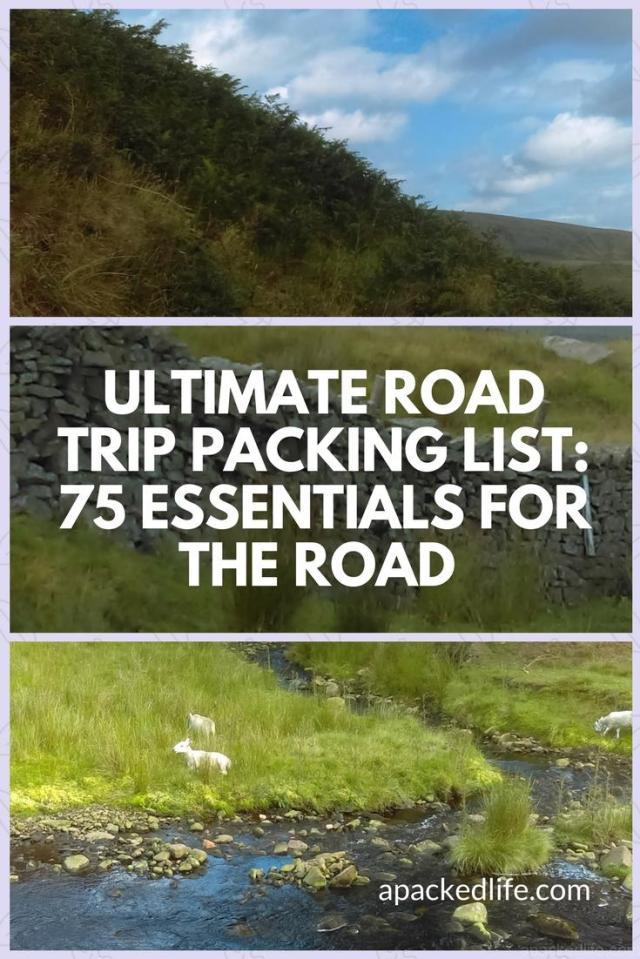 Ultimate Road Trip Packing List - 75 essentials for the road
