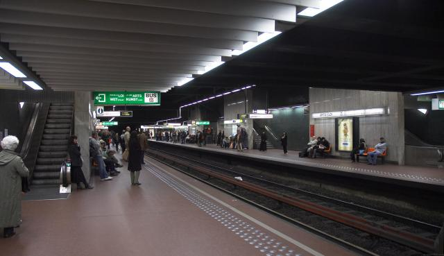 Ultimate Guide To Taking The Train In Belgium - Brussels Metro