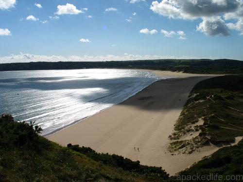The 9 Best Beaches In Wales You Must Visit - Oxwich Bay