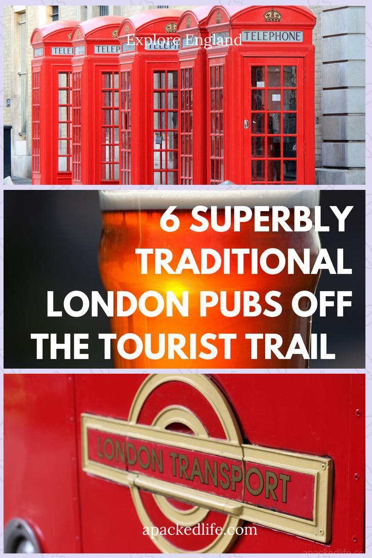 6 Superbly Traditional London Pubs Off The Tourist Trail
