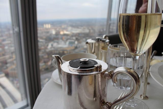 The Best Afternoon Tea Experiences Around The World - Afternoon Tea At The Shard - Tashas Oyster