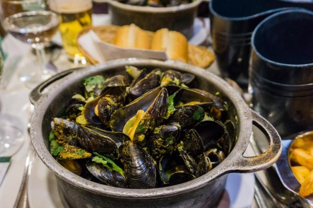 The Very Best Of Belgium - Great Places and Experiences - Moules Frites by Sonja at Migrating Miss