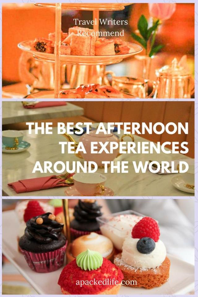 The Best Afternoon Tea Experiences Around The World