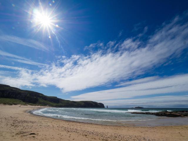 Best Beaches in Scotland - Sandwood Bay