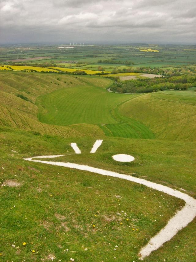 15 Hidden Treasures In The Vale Of White Horse, Oxfordshire - White Horse at Uffington