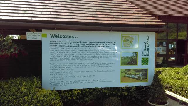 A Feast For The Senses: The National Herb Centre, Warwickshire - Welcome