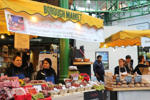 Cool or unusual things to do in England - Foodie- dreams- at -Borough- market 1 a