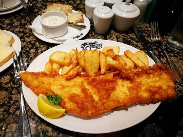 Cool or unusual things to do in England - Fish and Chips At Whitby