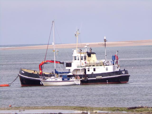 Things To Do In Appledore - ship in the estuary