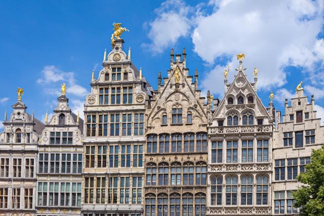 Places to Visit In Antwerp, Belgium - Guildhouses of Grote Markt