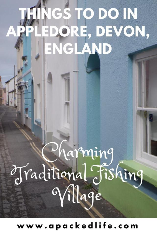 Things to do in Appledore - traditional fishing village in Devon, England