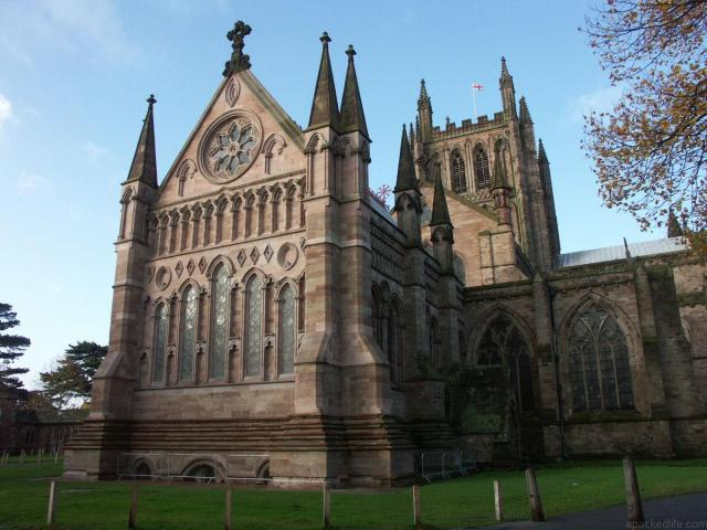 48 hours in the Welsh Marches land of conquests and castles - Hereford Cathedral