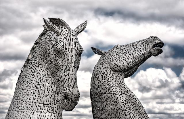 Britain's Most Scary Haunted And Haunting Places - The Kelpies, Falkirk