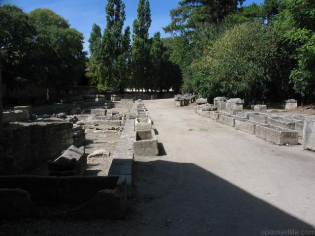 13 Wonderful Adventures In The Wild Camargue - Roman Alyscamps at Arles