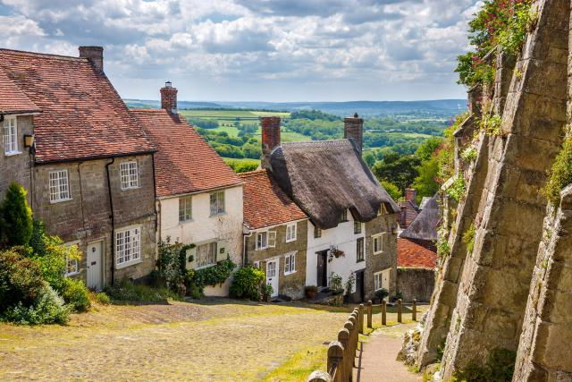 Undiscovered Places In England: Gold Hill Shaftesbury Dorset