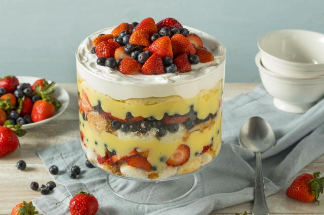 Great Eats of Britain: 61 Traditional British Foods To Try On Your Travels - Trifle