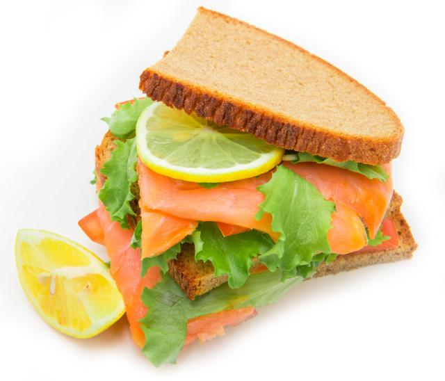 Great Eats of Britain: 61 Traditional British Foods To Try On Your Travels - Smoked Salmon Sandwich