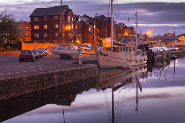 Top 10 UK City Breaks: Quayside, River Exe, Exeter, Devon