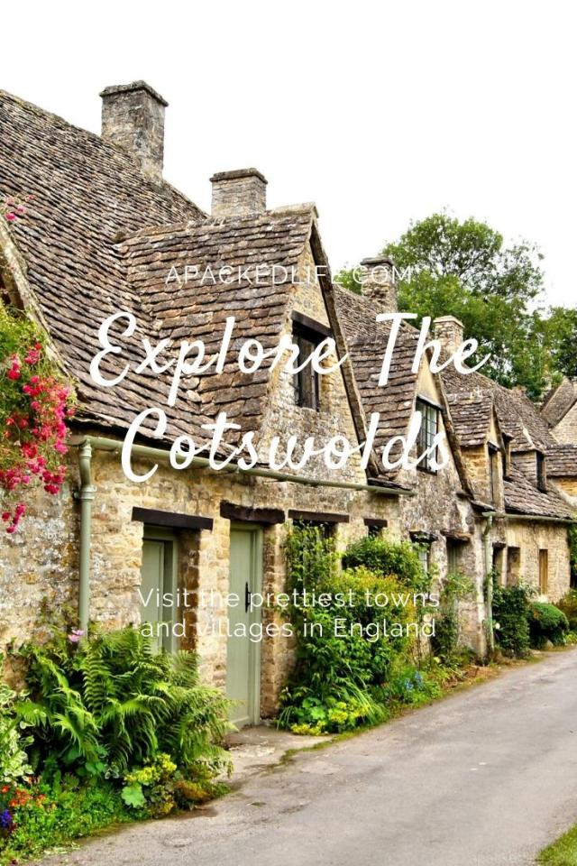 Visiting the prettiest 21 towns and villages in the Cotswolds England