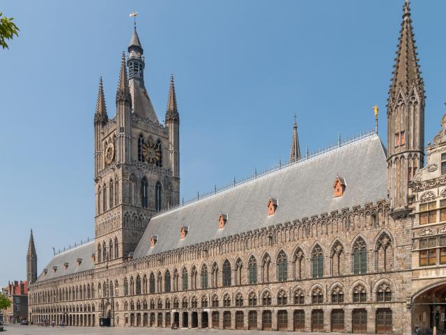 Day Trips From Brussels - Cloth hall at Ypres