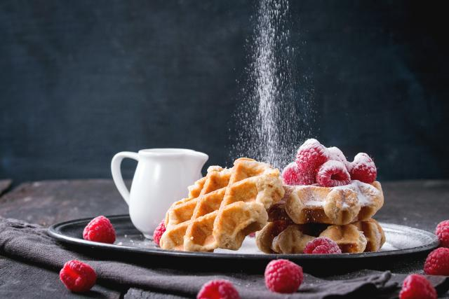 One Day In Ghent, when there's always time for a Belgian waffle