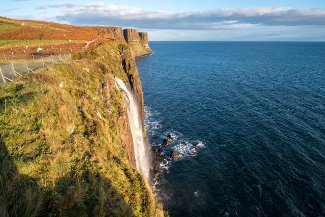 Scottish Highlands Itinerary - Kilt Rock and Mealt Falls, Isle of Skye