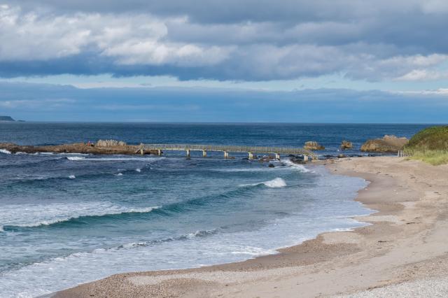 Northern Ireland Beaches - Ballycastle Strand, Causeway Coastal Route, Antrim