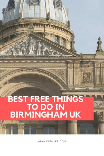 Best Free Things To Do In Birmingham UK