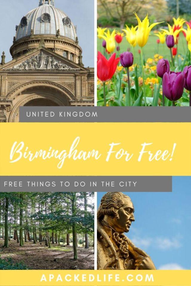 Free Things To Do In Birmingham UK