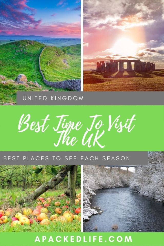 Best Time To Visit The UK