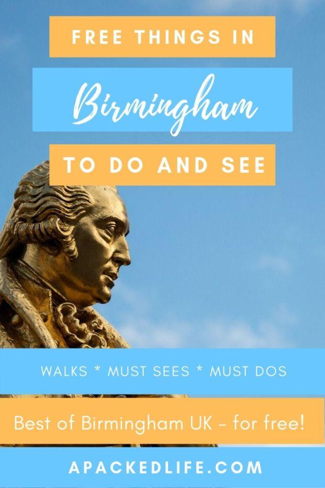 Free Things To Do In Birmingham UK (2