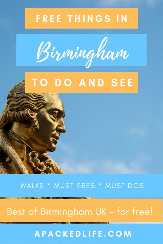 Free Things To Do In Birmingham UK (2