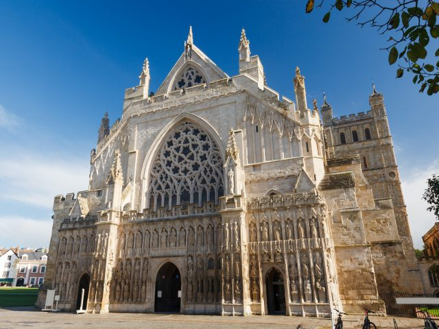 Secret England Hidden Gems - Exeter Cathedral