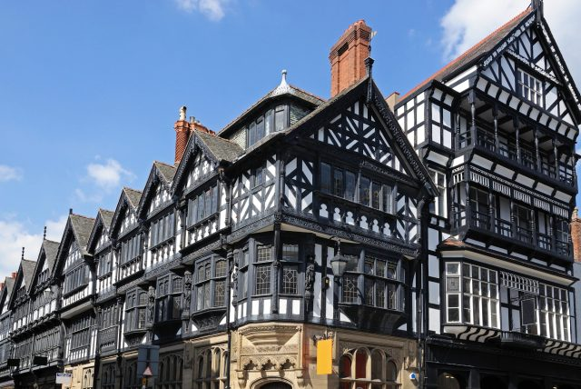 Best Places To Visit In Chester - The Rows, Eastgate Street and St Werburgh Street