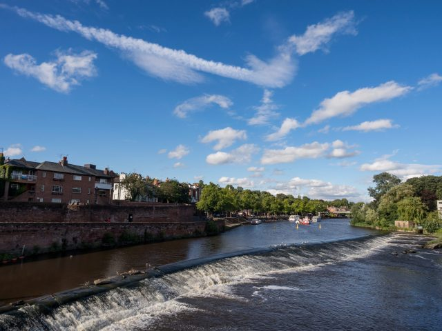 Best Places To Visit In Chester - Roman Walls and River Dee