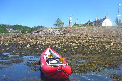 Lochinver sea wall