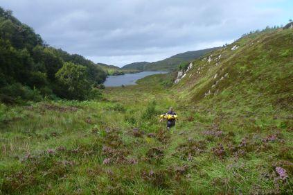 Approaching Loch Two