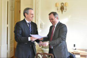 Assinatura do Protocolo de Colaboração APAH/SRNOM