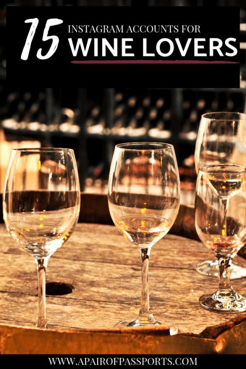 Wine Lover Instagram Accounts